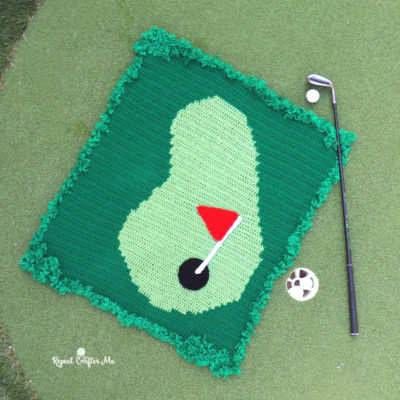 Crochet Golf Graphghan