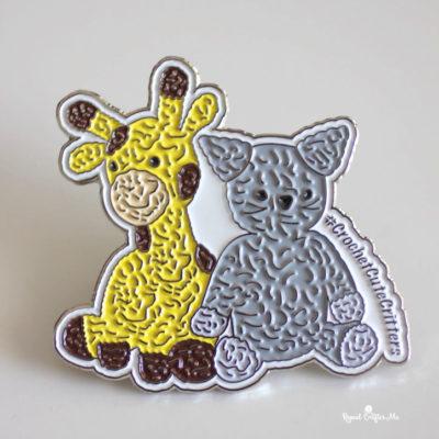 Crochet Cute Critters Enamel Pins from WizardPins
