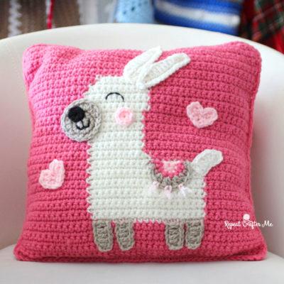 Llama Love Pillow
