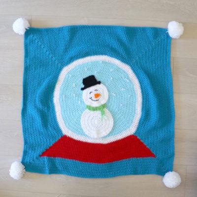 Crochet Snow Globe Blanket