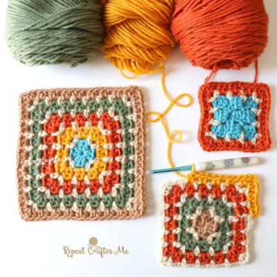 Crochet Block Stitch Using HDC