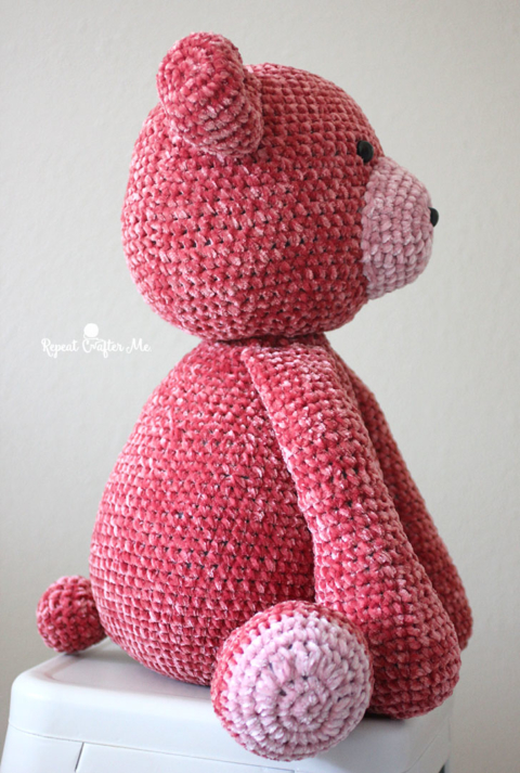 Crochet Quick Easy Charity Sleepy Bear Part 1 of 2 DIY Tutorial ... | 713x480